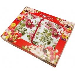 фото Комплект из 2-х полотенец и прихватки подарочный BONITA «Английская коллекция» 01010215513