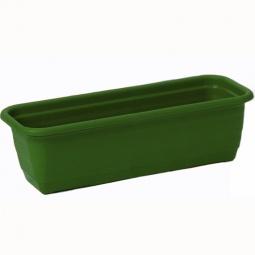 фото Ящик для цветов IDEA. Длина: 100 см. Цвет: зеленый
