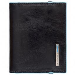 фото Чехол для кредитных и визитных карт Piquadro Blue Square PP1395B2. Цвет: черный