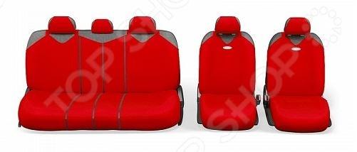 Набор чехлов для сидений Autoprofi R-902PZ R-1 Sport Plus Zipper
