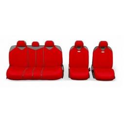 Купить Набор чехлов для сидений Autoprofi R-902PZ R-1 Sport Plus Zipper