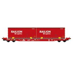 фото Вагон для перевозки грузов Mehano SGKKMS 698 (DB) 2x Railion DB Logistics