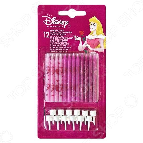 Свечи на торт Procos «Принцессы Disney» procos свечи буквы принцессы disney сказочный мир happy birthday