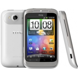 фото Мобильный телефон HTC Wildfire S. Цвет: белый