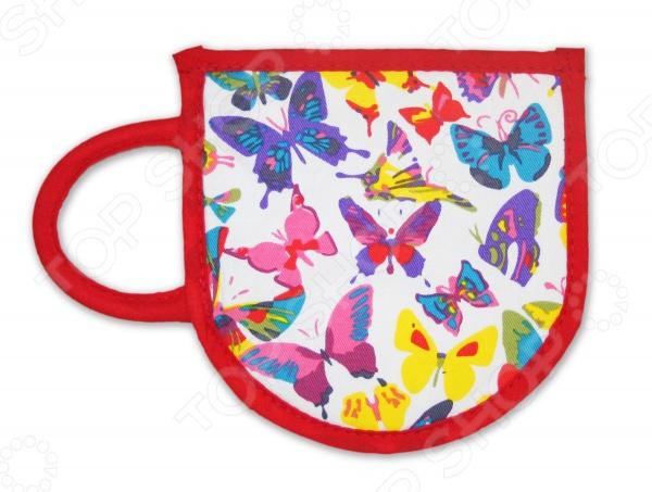 Фото - Прихватка-чашка BONITA «Бабочки» [супермаркет] jingdong геб scybe фил приблизительно круглая чашка установлена в вертикальном положении стеклянной чашки 290мла 6 z