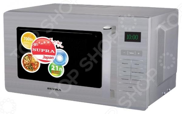 Микроволновая печь Supra MWS-2103SS микроволновая печь supra mws 2103ss