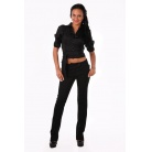 Фото Блузка Mondigo 9635. Цвет: черный. Размер одежды: 46