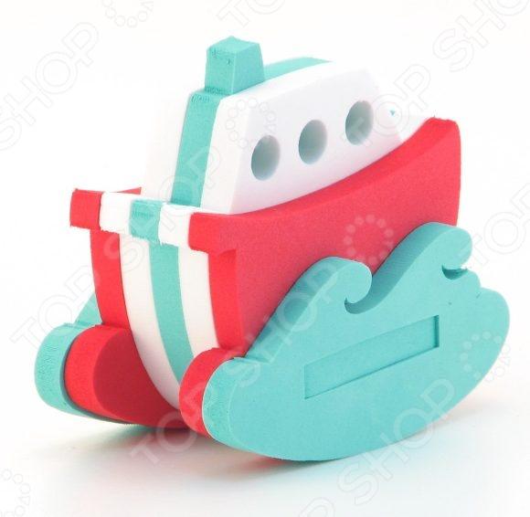 Конструктор мягкий El Basco для ванной «Кораблик» игрушки для ванной склад уникальных товаров все для ванной пробка универсальная крабик