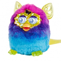 фото Мягкая игрушка интерактивная Hasbro «Ферби Кристалл». Цвет: синий, сиреневый