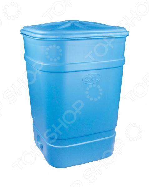 Бак-бочка Альтернатива М1626 полезная для хозяйства вещь, которая поможет хранить большое кол-во жидкости. Пищевая бочка выполнена из высококачественного пластика, поэтому подходит для хранения различных продуктов. Так, в неё можно набрать запах питьевой или технической воды. Бочка герметичная, с плотно закрывающейся крышкой, которая не даст содержимому вылиться. Дополнительные варианты для хранения: ГСМ, химические продукты, дизельное топливо, бензин, масло. Характеристики:  Высота 1000 мм.  Диаметр 700 мм.