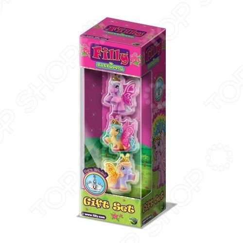 Набор игровой для девочки Dracco «Лошадки-бабочки»