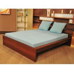 фото Комплект постельного белья Махровая нежность Люкс. 1,5-спальный, голубой