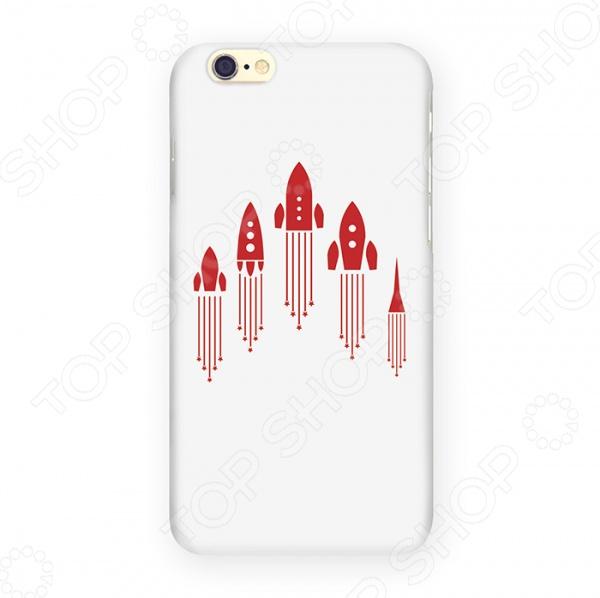 Чехол для iPhone 6 Mitya Veselkov «Ракеты» чехол для iphone 6 mitya veselkov мозаика