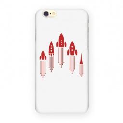 фото Чехол для iPhone 6 Mitya Veselkov «Ракеты»