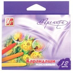 фото Набор карандашей масляных Луч «Премиум»: 12 цветов