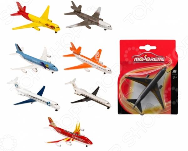 Самолет коллекционный Majorette 205312. В ассортименте