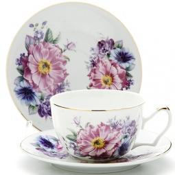 Купить Чайная пара Loraine LR-24586 «Фиалки»