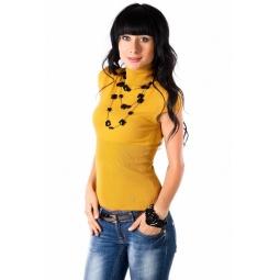 фото Кофта Mondigo 9755. Цвет: горчичный. Размер одежды: 46