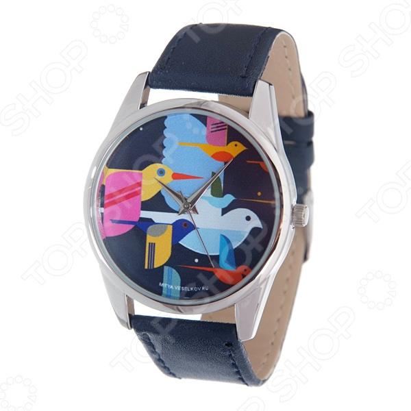 Часы наручные Mitya Veselkov «Стая птиц» стая