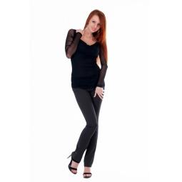 фото Кофта Mondigo 18519. Цвет: черный. Размер одежды: 44