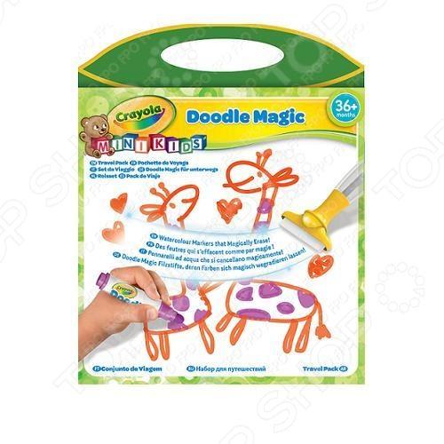 Набор для рисования в дороге Crayola Doodle Magic набор для объемного 3д рисования feizerg fsp 001 фиолетовый