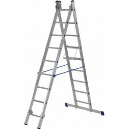 Купить Лестница двухсекционная РОС