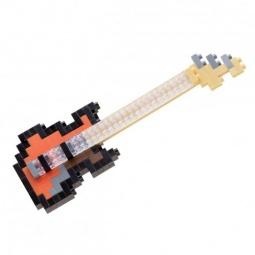 Купить Мини-конструктор Nanoblock «Басс-гитара»