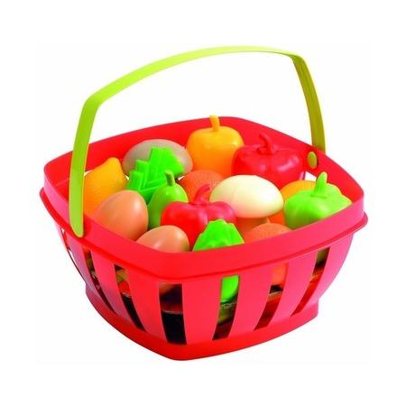 Купить Игровой набор: корзинка с продуктами Ecoiffier 966. В ассортименте
