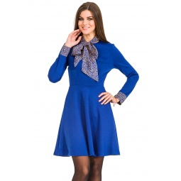 фото Платье Mondigo 5153. Цвет: темно-синий. Размер одежды: 44