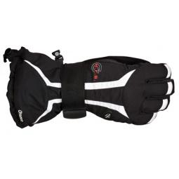 Купить Перчатки горнолыжные GLANCE X-Plosion (2012-13). Цвет: черный, белый