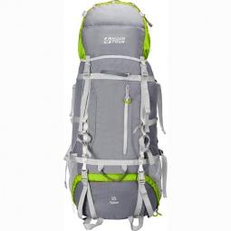 фото Рюкзак экспедиционный NOVA TOUR «Юкон 95 V2». Цвет: оливковый, серый