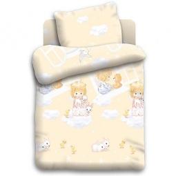 Купить Детский комплект постельного белья Непоседа «Ангелочки»