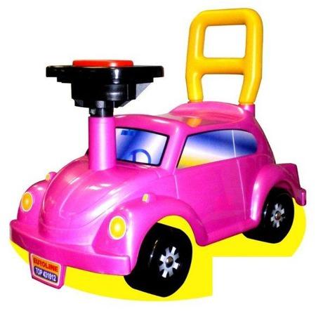 Купить Машина-каталка Нордпласт Go! «Розовое чудо»
