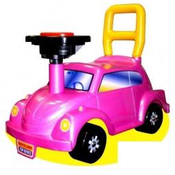 фото Машина-каталка Нордпласт Go! «Розовое чудо»