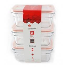 фото Набор контейнеров для продуктов Glasslock GL-1107. В ассортименте