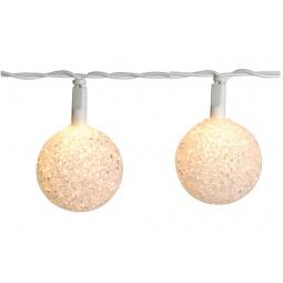 фото Гирлянда с мягкими плафонами Star Trading Ball. Цвет: белый