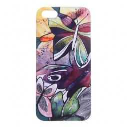 фото Чехол для iPhone 5 Mitya Veselkov «Акварельные бабочки»