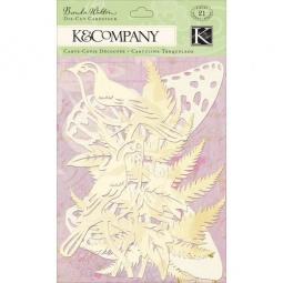 Купить Украшение K&Company «Кардсток-флора и фауна»