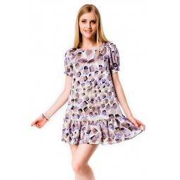 фото Платье Mondigo 5106. Цвет: какао. Размер одежды: 44