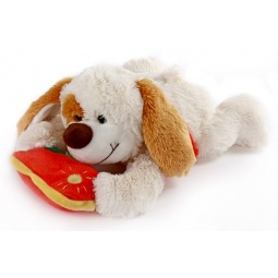 фото Мягкая игрушка Fluffy Family «Щенок Пятныш с подушкой»