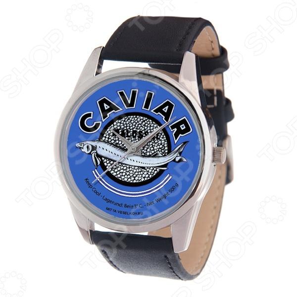 Часы наручные Mitya Veselkov «Банка черной икры» MV