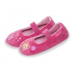 фото Тапочки-балетки детские Isotoner 99336. Цвет: розовый. Размер: 32
