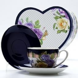 Купить Чайная пара Mayer&Boch MB-22996 «Розы»