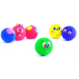 фото Игрушка для собак Beeztees «Мяч с принтом. Мордочки животных». В ассортименте