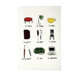 фото Обложка для паспорта Mitya Veselkov «Офис по-французски»