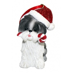 фото Елочное украшение-подвеска Crystal Deco «Собачка» 1707810