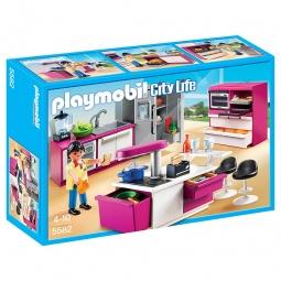 фото Конструктор игровой Playmobil «Особняки: Современная дизайнерская кухня»