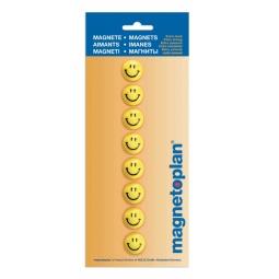Купить Набор магнитов круглых Magnetoplan 16671 «Смайлы»