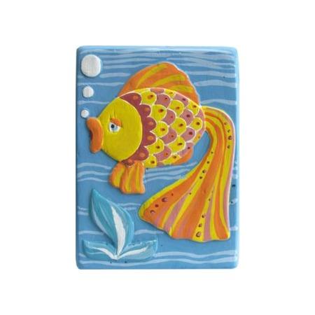 Купить Набор для создания объемных барельефов Фантазер «Рыбка» 29324