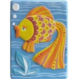 фото Набор для создания объемных барельефов Фантазер «Рыбка» 29324